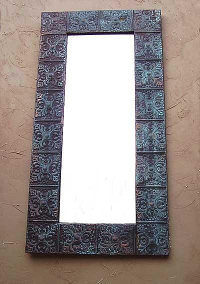 Aged-tin-wall-mirror-m